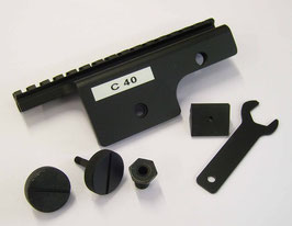 M14 Short Gun Sight Support Slitta Rail per M14 C40