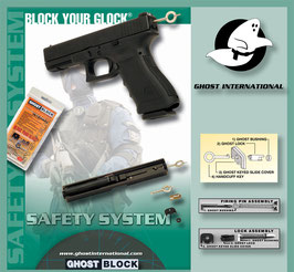 GHOST BLOCK SISTEMA DI SICUREZZA PER GLOCK (GI03-GB)