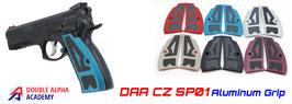 DAA CZ Sp01 Grip in Alluminio + Pre-cut 3m tape