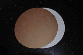 Piattino di carta Cardboard Plate diam. 20 cm.