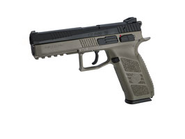 ASG CZ P-09 Green Gas/ C02 + Valigetta - Flat Dark Earth codice 18182