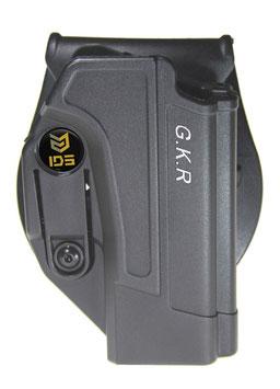Fondina Israeliana IDS Holster GKR Livello 1 di ritenzione per Glock 17/19