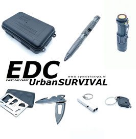 Kit EDC Urban Survival Made-up Specialcorps.it® codice: 10000KEDC