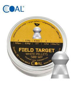 COAL PALLINI PER ARIA COMPRESSA FIELD TARGET DIAM. 4,50 MM CE000020
