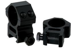Anelli UTG Accushots Anelli diametro da 25mm e attacco da 22mm media altezza RGWM25M4