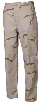 Pantaloni BDU ripstop Desert Tre colori  01334Z