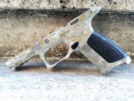 Cover APX Beretta 9x21 imi (Cubicatura Digital Desert AOR1 + Doppia Lavorazione a mano)