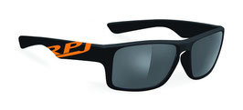 RUDY PROJECT KALI BLACK SHINY - POLARIZED GREY LENSES  RPJ-455942