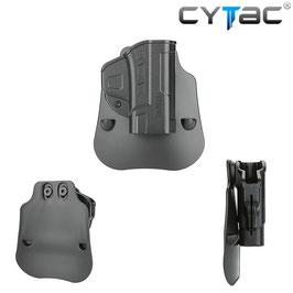 CYTAC Fondina Fast Draw per S&W MP9 e compact