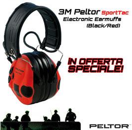 3M Peltor SportTac Cuffie Attive/Elettroniche