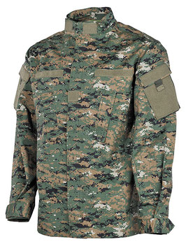 Camicia Combat Marpat Woodland 03383S