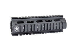 Quadri Rail per M4-AR15 Ris Weaver Lone Star in metallo cod. LS009