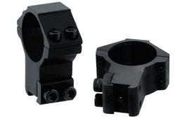 Anelli UTG Accushots diametro da 30mm e attacco da 11mm Alto Profilo RGPM-30H4