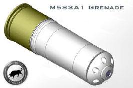 Granata Madbull airsoft modello M583A1