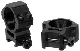 UTG Accushot Anelli per ottica da 30mm di diametro e attacco da 22mm Altezza Media RGWM-30M4