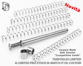 "DPM Tanfoglio Limited, Limited pro 19l custom, sotckIII Match LIMITED - LIMITED PRO P19L CUSTOM - STOCKIII Match (All Calibres) Custom Made ""Soft Version"""