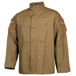 Field jacket US, ACU, Rip Stop,  tan coyote 03383R