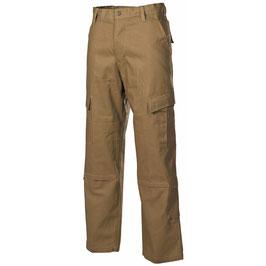 Pantaloni militari taglio ACU, Rip Stop,  coyote tan 01383r