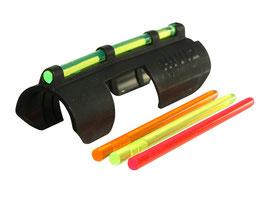 Hiviz Tactical Shotgun Sight MPB TAC Mirino in fibra ottica per fucile cal 12 a pompa - semiautomatico