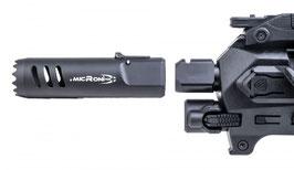 CAA Plus Muzzle Device - Spegnifiamma ad innesto rapido per Micro Roni - PMD