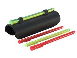 Hiviz Plain Barrel Shotgun Sight MPB Mirino in fibra ottica per fucile cal 12 a pompa - semiautomatico