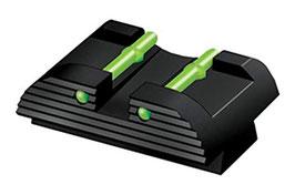 HiViz Tacca di Mira per tutte le Glock comprese la serie in 10mm/45acp/45gap GL2109