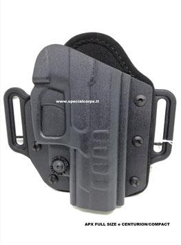 VHH8 – POLYMER PANCAKE Kydex per Glock e Beretta