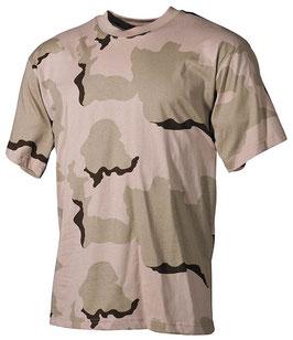 T-Shirt Us style Desert Tre colori 00103Z