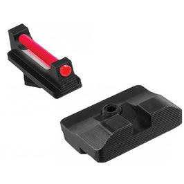 TRUGLO Fiber Optic PRO Mirino e Tacca di mira per Glock 17/19 - 34/35 codice TG132G1