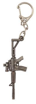 Portachiavi M4 con Dot  con silenziatore in metallo