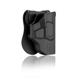 Cytac Fondina con botte di sgancio per Glock 43 codice CY-G43G3