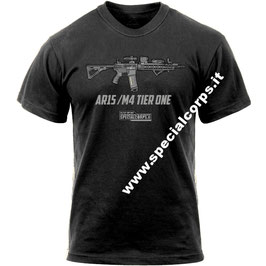 T-Shirt Special Corps.it AR15/M4 TIER ONE