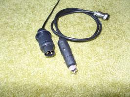Stromversorgungskabel verschiedene Stecker für Empfangseinheit/Monitor