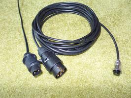 Adapterkabel verschiedene Stecker für Sendeeinheit/Kamera