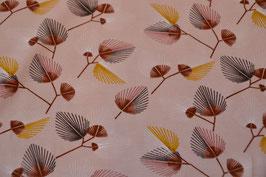 Blätter in BIO Qualität auf Rosa