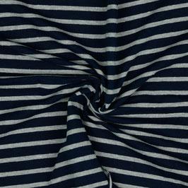 Sweat Melange Marine/Grau