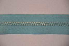 Reißverschluss, teilbar, 50cm, Farbe: Mint
