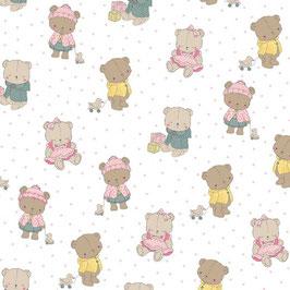 Baumwolle mit Bären