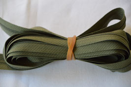 Endlosreißverschluss Insklusiv 3 Zipper Farbe: Grün