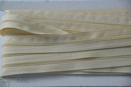 Enlosreisverschluß insklusiv 3 Zipper Farbe: Wollweiß