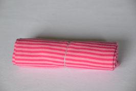 Bündchen Pink gestreift