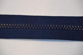 Reißverschluss, teilbar, 30cm, Farbe: Marine