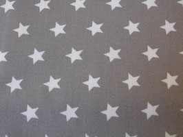 Stoff mit sternen in Grau