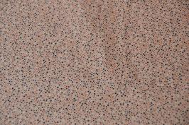 Baumwollstoff in Rosa mit kleinen Punkten