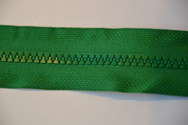 Reißverschluss, teilbar, 70cm, Farbe: Grün