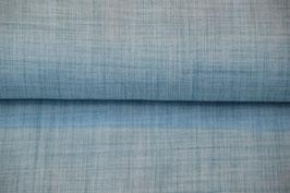 Leicht Struktuiert ist dieser Stoff in Jeansblau Digitaldruck