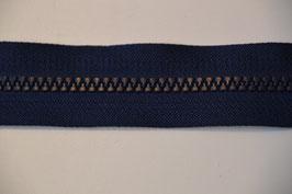 Reißverschluss, teilbar, 60cm, Farbe: Marine