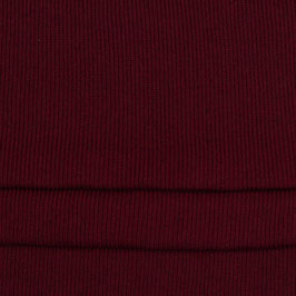 Strickstoff Recycled Baumwolle, Farbe: Bordeaux,