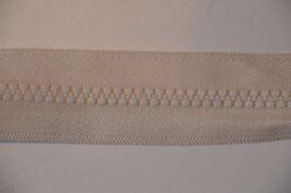 Reißverschluss, teilbar, 30cm, Farbe: Ecru