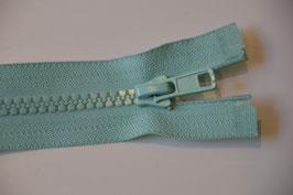 Reißverschluss, teilbar, 60cm , Farbe: Jade